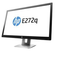 "27"" HP E272q / LCD / 2560 x 1440 / IPS / 7ms / 16:9 / 1000:1 / 350cd-m2 / VGA+DP+HDMI+USB / Pivot / Černý"
