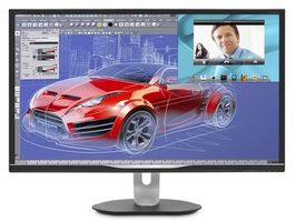 "32"" PHILIPS 3270QP-QHD / AMVA LCD panel / QHD / 2560x1440 / 16:9 / 300cd / 12ms / HDMI / DP / DVI / VGA"