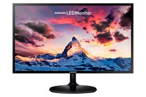 "24"" SAMSUNG S24F350 / LED / 1920 x 1080 / 16:9 / 4ms / 3000:1 / 250cd/m2 / VGA / HDMI"