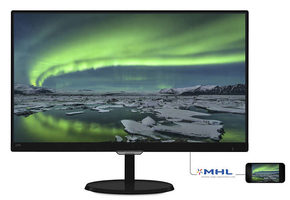 "23"" PHILIPS 237E7QDSB-FHD / IPS LED / FHD / 16:9 / 5ms / 1000:1 / 250cd / VGA+HDMI+DVI / Černý"