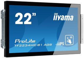 "21.5"" IIYAMA ProLite TF2234MC černá / LED / 1920 x 1080 / IPS / 16:9 / 8ms / 300cd-m2 / VGA / DVI"