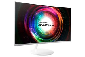 "32"" SAMSUNG LC32H711QEUXEN bílá / SVA / W-LED / 2560 x 1440 / 16:9 / 60Hz / 4ms / 3000:1 / 300cd-m2 / DisplayPort+HDMI"