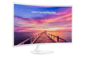"32"" SAMSUNG LC32F391FWUXEN bílá / VA / W-LED / 1920 x 1080 / 16:9 / 60Hz / 4ms / 3000:1 / 250cd-m2 / DisplayPort+HDMI"