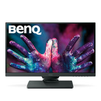 "25"" BenQ PD2500Q černá / IPS LED / WQHD / 16:9 / 4ms / 20mil:1 / 350cd / DP+HDMI / pivot / repro / USB / LAN"