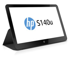 "14"" HP S140u černá / TN LED / 1600 x 900 / 16:9 / 8 ms / 400:1 / 200cd-m2 / USB 3.0"