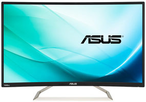 "32"" ASUS VA326H Gaming / IPS / FHD / 16:9 / 4 ms / 300 cd / 100M:1 / VGA+DVI+HDMI / VESA / repro"
