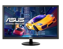 "24"" ASUS VP248H černá / TN / FullHD / 250cd / 1ms / VGA+HDMI / 3.5mm jack / repro"