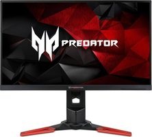 "27"" Acer LCD Predator XB271H černá / LED / 1920 x 1080 / 16:9 / 1ms / 400cd / 100M:1 / HDMI+DP / USB 3.0 / G-Sync / rep"