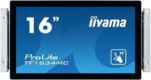 "15.6"" IIYAMA ProLite TF1634MC-B6X / 1366x768 / 8ms / 360cd / VGA + HDMI + DP / USB / IP65 / VESA"