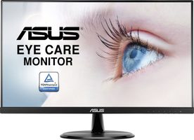 "23.8"" ASUS VP249HE černá / LED / 1920x1080 / IPS / 16:9 / 5ms / 1000:1 / 250 cd-m2 / HDMI+DS / VESA"