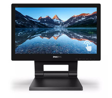 "15.6"" PHILIPS 162B9T / TN Touch / 1366 x 768 / 16:9 / 4ms / 220cd-m2 / 500:1 / HDMI+DP+VGA / VESA / Repro"
