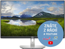 "27"" DELL S2721HN stříbrná / LED / 1920x1080 / IPS / 16:9 / 4ms / 1000:1 / 300cd-m2 / HDMI / 3YNBD"
