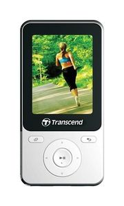 MP3 přehrávač Transcend 8GB MP710 / Flash / USB 2.0 / Bílý