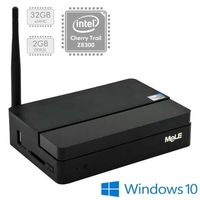 Mele PCG03 Plus Cherry Trail Mini PC / Intel Atom x5 Z8300 1.44GHz / 2GB / 32GB eMMC / Intel HD / WiFi+BT / W10 / černá