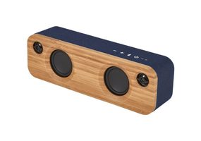 MARLEY Get Together Mini BT - Denim / přenosný audio systém s Bluetooth / Jack 3.5mm / 12W