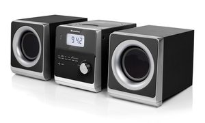 TOPCOM AudioSonic HF-1260 Stereo set / 2 x 5 Watt / CD & MP3 / FM & MW / USB / Aux-in