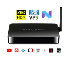 EVOLVEO MULTIMEDIA BOX M4 černá / Quad Core 2 GHz / 2 GB RAM / WiFi / Bluetooth / HDMI / USB / Android 7.1