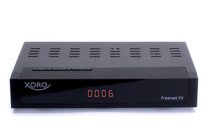Xoro HRT 8770 Twin DVB-T2&C HD receiver / PVR-R / Timeshift / HDMI / 1080p / LAN / USB / černá