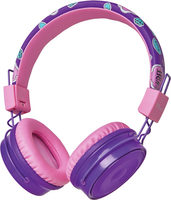 Trust Comi Bluetooth Wireless Kids Headphone fialová / Bluetooth sluchátka s mikrofonem / BT / microUSB