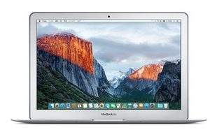 "Apple MacBook Air 13"" CZ 2016 / Intel Core i5 1.6GHz / 8GB / 128GB SSD / Intel HD6000 / OS X El Capitan"
