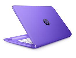 "HP Stream 14-ax002nc / 14"" HD / Intel Celeron N3060 1.6GHz / 4GB / 32GB SSD / Intel HD / Win 10 / fialová"