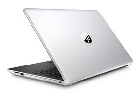 "HP 15-bs026nc stříbrná / 15.6"" HD / Intel Core  i3-6006U 2.0 GHz / 4GB / 128 GB SSD+1TB / Intel HD 520 / DVDRW / W10H"