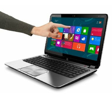 "Bazar - HP ENVY TOUCHSMART 4-1160ec / 14"" HD / Intel i5-3317U 1,7GHz / 4GB / 500GB+32GB SSD / Intel HD / Win8"