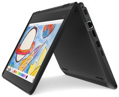 "Lenovo ThinkPad Yoga 11e (5th Gen) černá / 11.6"" HD T / Celeron N4100 1.1GHz / 4GB / 128GB eMMC / Intel UHD 600 / W10H"