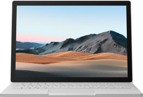 "Microsoft Surface Book 3 (ENG) stříbrná / 13.5"" Touch / Core i5-1035G7 1.2GHz / 8GB / 256GB SSD / Intel Iris Plus / W10H"