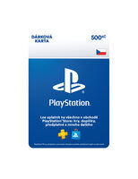 SONY PlayStation Live Cards CZK500
