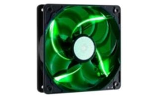 Cooler Master SickleFlow 120 LED Green / 120 mm / Sleeve Bearing / 19 dB @ 2000 RPM / 3-pin