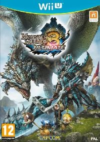 WiiU Monster Hunter 3 Ultimate / Adventura / Angličtina / od 12 let / Hra pro Nintendo Wii U
