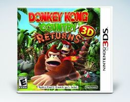 3DS Donkey Kong Country Returns 3D / Adventura / Angličtina / od 3 let / Hra pro Nintendo 3DS