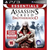 PS3 Assassins Creed Brotherhood Essentials / Akční / Angličtina / od 18 let / Hra pro Playstation 3