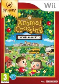 Wii Animal Crossing: Lets go to the City Select / Adventura / Angličtina / od 3 let / Hra pro Nintendo Wii