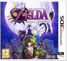 3DS The Legend of Zelda: Majora's Mask / RPG / Angličtina / od 12 let / Hra pro Nintendo 3DS