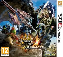 3DS Monster Hunter 4 Ultimate / RPG / Angličtina / od 12 let / Hra pro Nintendo 3DS