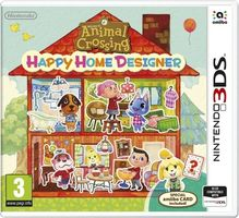 3DS Animal Crossing: Happy Home Designer + Card / Simulátor / Angličtina / od 3 let / Hra pro Nintendo 3DS