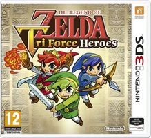 3DS The Legend of Zelda: Tri Force Heroes / Adventura / Angličtina / od 12 let / Hra pro Nintendo 3DS