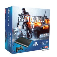 SONY PlayStation 3 Slim New (SuperSlim) - 12GB + Battlefield 4