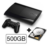 SONY PlayStation 3 Slim New (SuperSlim) - 500GB samostatná konzole