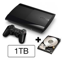 SONY PlayStation 3 Slim New (SuperSlim) - 1TB samostatná konzole