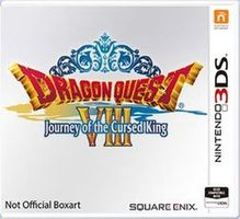 3DS Dragon Quest VIII: Journey of the Cursed King / RPG / Angličtina / od 12 let / Hra pro Nintendo 3DS