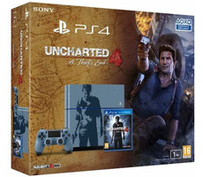 SONY PlayStation 4 - 1TB CUH-1216B + Uncharted 4: A Thief's End / limitovaná edice