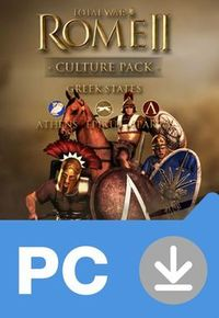 PC Total War: Rome II - Greek States (DLC) / Elektronická licence / Strategie / Angličtina / od 16 let