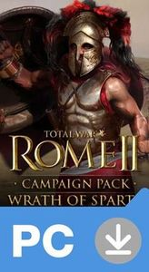 PC Total War: Rome II - Wrath of Sparta (DLC) / Elektronická licence / Strategie / Angličtina / od 16 let