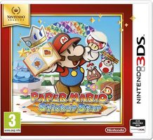 3DS Paper Mario: Sticker Star Select / Adventura / Angličtina / od 3 let / Hra pro Nintendo 3DS