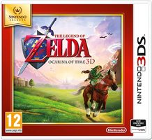 3DS The Legend of Zelda: Ocarina of Time Select / Adventura / Angličtina / od 12 let / Hra pro Nintendo 3DS