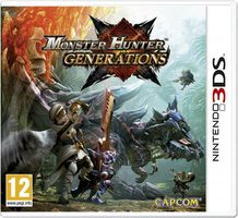 3DS Monster Hunter Generations / RPG / Angličtina / od 12 let / Hra pro Nintendo 3DS