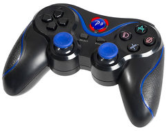 Tracer Gamepad BLUE FOX / Bluetooth / PS3 / modrá